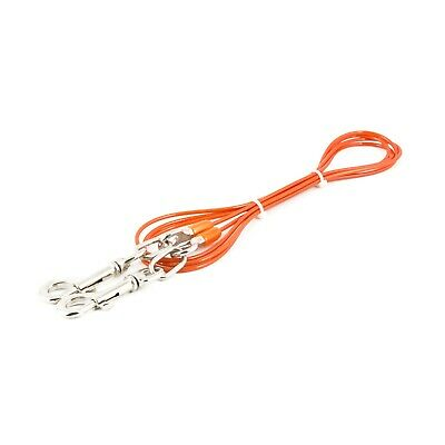 Ancol Dog Tie Out Ground Stake Spike - Wire Cable Lead 2.3m Camping Strong  • 7.99£