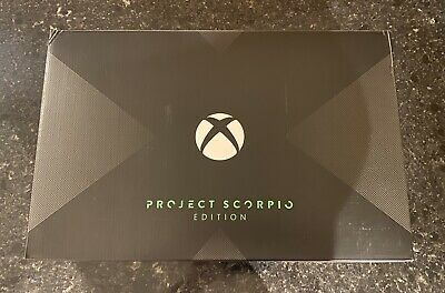 $209.50 • Buy Xbox One X Console, Project Scorpio Edition, Complete Set With Unused Controller