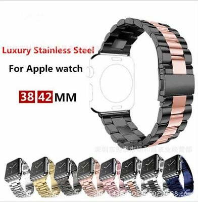 AU16.99 • Buy For Apple Watch Series 6 5 4 3 2 1 Bracelet Strap Metal Link Band 38/42/42/44mm