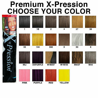 2 Packs Of  Ultra HAIR Xpression Braiding Hair. 100% KANEKALON Expression .  • 1.99£
