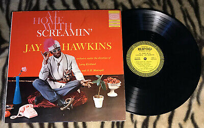 At Home With ♫ Screamin Jay Hawkins ♫ Epic Ln3448 1st Press I Put A Spell On You • 422.98£