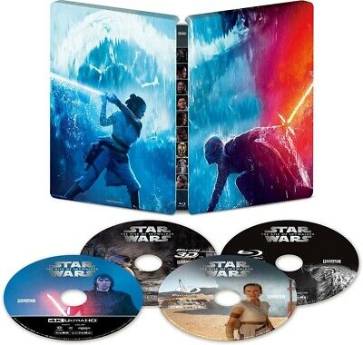 AU96.36 • Buy Blu-ray HD 3D 2D Star Wars The Rise Of Skywalker 4K ULTRA Japan