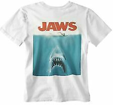 Jaws T-shirt Movie Poster 70s 80s Shark Movie Film Retro Yolo Gift Official Uk • 4.99£