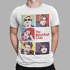 The Breakfast Club Unisex T Shirt All Sizes Movie Film Tee 80s Retro Group • 5.99£