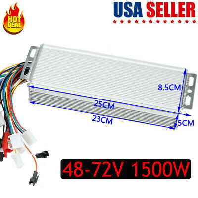 $34.25 • Buy 48-72V 1500W Electric  E-bike Scooter Brushless DC Motor Speed Controller