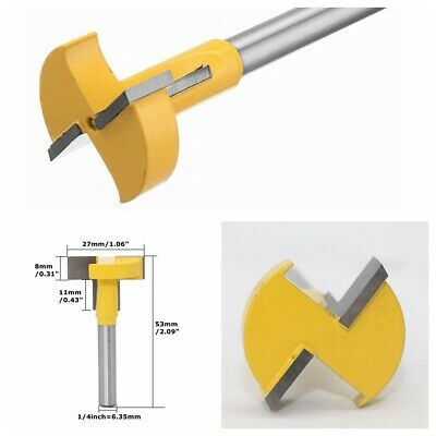 £6.99 • Buy T-Slot Cutter Router Bit 1/4  Shank For 2  Hex Bolt Chisel Woodworking Tool 1Pcs