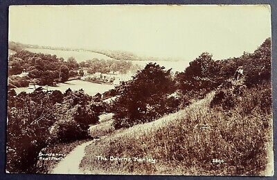 Real Photo Postcard View Of Kenley From The Downs-croydon Surrey 1915   • 8£