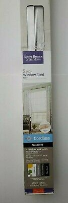 $ CDN59.32 • Buy Better Homes & Gardens 2  Faux Wood Cordless Blinds, White 47 Wx64 L New In Box