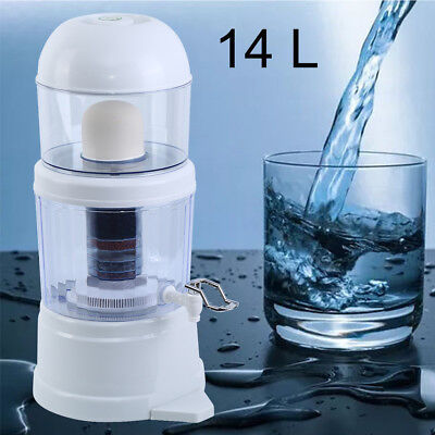 14L Water Filter Purifier Activated Carbon Filtration System 7 Stage • 21.99£