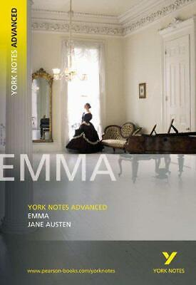 Emma  (York Notes Advanced) By Jane Austen, Good Used Book (Paperback) FREE & F • 1.97£