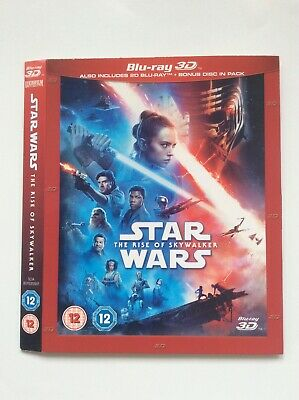 AU3.86 • Buy Star Wars: The Rise Of Skywalker Slipcover Only!! *No 3D Or 2D Disc*