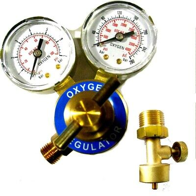 Jewelers Oxygen 4  Regulator & Canister Valve - Smith Torch TYPE  • 35.03£