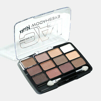 AU9.95 • Buy LA COLORS NUDE Traditional 12 Colour Eyeshadow Palette - Free Shipping