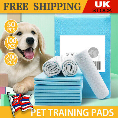 £9.99 • Buy Heavy Duty Dog Puppy Large Training Wee Wee Pads Pad Floor Toilet Mats 60 X 45cm