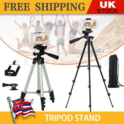 Universal Mobile Phone Tripod Stand Grip Holder Mount Cameras Phones Bluetooth • 9.99£