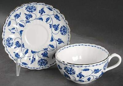 Spode Colonel Blue Cup & Saucer 7182261 • 51.17£