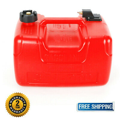$59.90 • Buy Fuel Tank - 3 Gallon Low Profile Red 12 L Portable Outboard Boat Motor Gas Tank