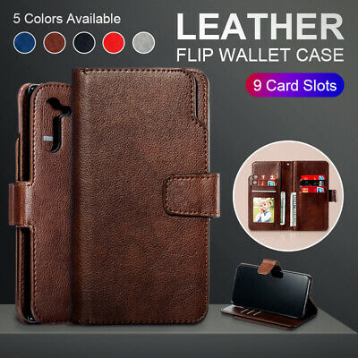 $ CDN9.32 • Buy Case For Samsung Galaxy Note10+ Lite Note9 Note8 Shockproof Leather Wallet Cover