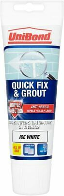 Anti Mould Wall Tile Grout Tube White Ready Mix Adhesive Kitchen Bathroon Shower • 6.10£