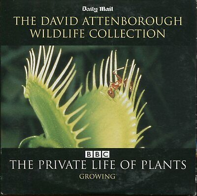 £1.10 • Buy David Attenborough - The Private Life Of Plants - Growing / Newspaper Promo DVD