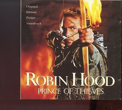 Robin Hood - Prince Of Thieves / Soundtrack • 3.25£