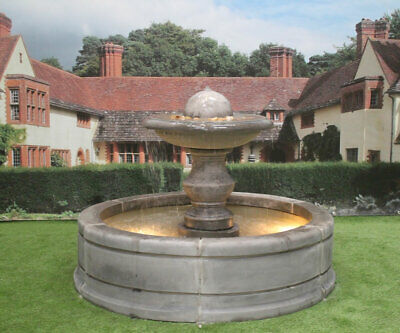Contempory Tate Pool Surround With Regis Ball Garden Water Fountain Feature • 1,658.80£