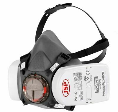 JSP Force 8 Half-Mask With Press To Check P3 RD Filters - Size Medium • 29.95£