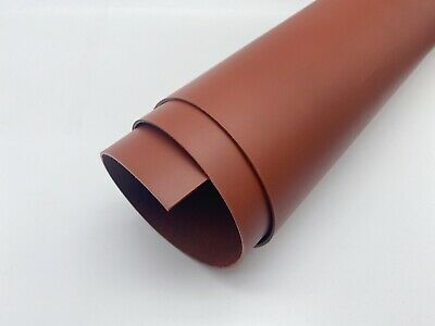 Dyed Veg Tan Leather Cowhide Craft 2.3-2.5mm Thick Saddle Tan Brown • 7.75£