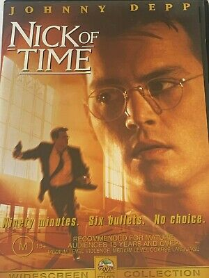AU6.95 • Buy Nick Of Time Johnny Depp DVD Like New