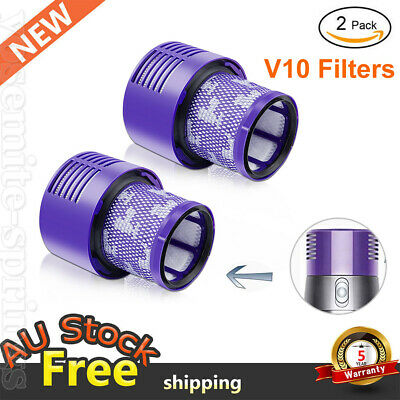 AU24.99 • Buy For DYSON Vacuum Filter V10 Cyclone Animal Absolute Total Clean Washable SV12 2X