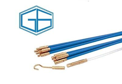 Draper 45274 - Cable Access Rod Kit - 10 X 1m Rods & Accessory Puller Kit • 14.99£
