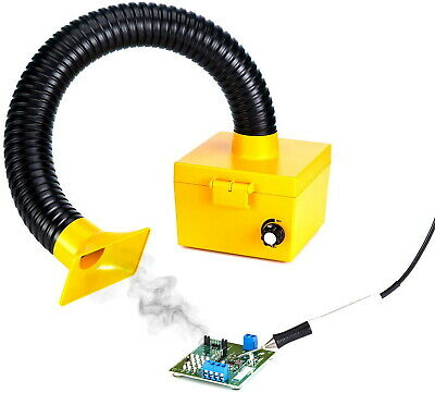£84.38 • Buy Soldering Smoke Absorber Electric Iron Welding Fume Extractor Remover DIY Filter