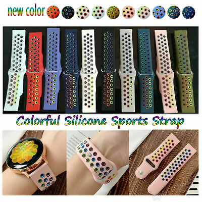 AU9.99 • Buy For Samsung Galaxy Watch Active 2 44 40mm 42 Silicone Bracelet Sports Band Strap