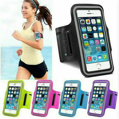 Gym Running Jogging Sports Armband Holder For IPhone Samsung Mobile Phones UK • 4.99£