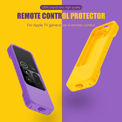 AU8.59 • Buy Remote Case For Apple TV 4th Generation Silicone Protective Case Skin Dust Cover