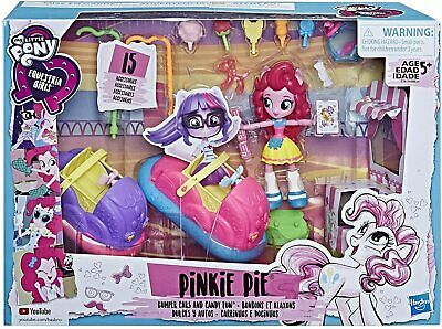 Habsro My Little Pony Equestrian Girls Pinkie Pie Bumper Cars And Candy Fun • 21.99£