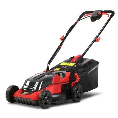 AU269.89 • Buy Giantz Lawn Mower Cordless Electric Lawnmower Lithium Battery Powered Catch