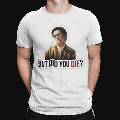 Mr Chow T-Shirt - But Did You - Comedy - Funny - The Hangover - Film - Cool - TV • 6.99£