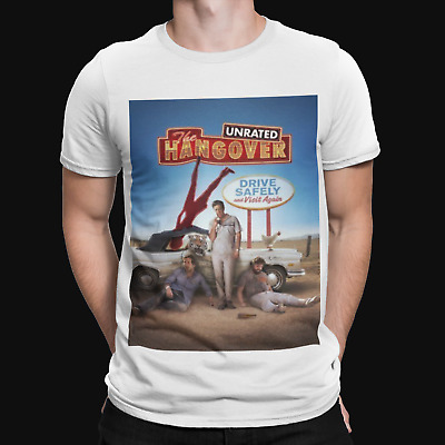 The Hangover Unrated T-Shirt - But Did You - Comedy - Funny - Film - Cool - TV • 5.99£
