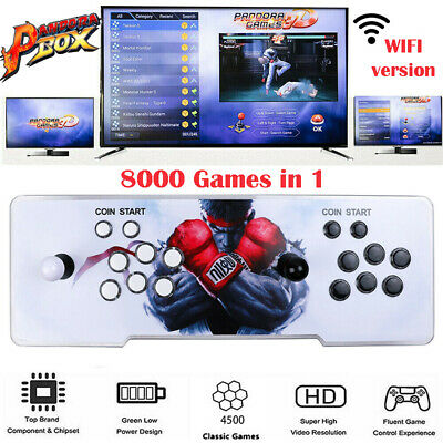 AU249.99 • Buy New Arrival 8000 Games 18s Pandora Box Wifi Model, Full Hd Arcard 3d Games