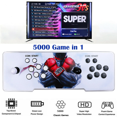 AU219.89 • Buy NEW Pandora's Box 3D 4500 18S Games Retro Key 3D Games FULL 2 Players Arcade HD