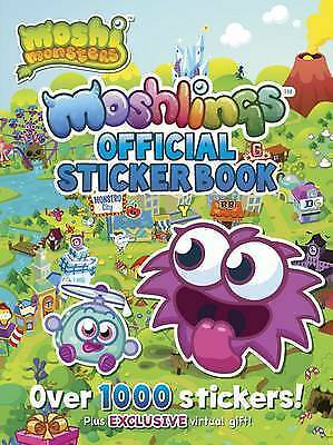 Moshi Monsters Official Moshlings Sticker Book By Mind Candy Limited, Acceptable • 1.97£