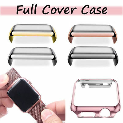 AU9.99 • Buy F Apple Watch Iwatch Series 3 2 1 Hard Case Cover Screen Protector For 42mm 38mm