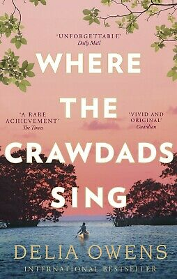 AU14.97 • Buy BRAND NEW Where The Crawdads Sing By Delia Owens Paperback Book FREE SHIPPING AU