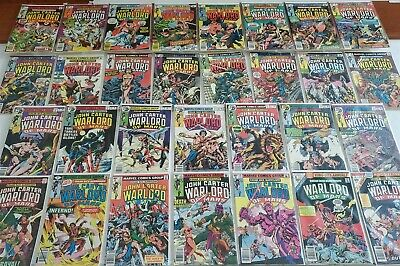 $25.48 • Buy JOHN CARTER, WARLORD OF MARS #1-28 MARVEL COMIC FULL RUN LOT HI GRADE Avg NM/M