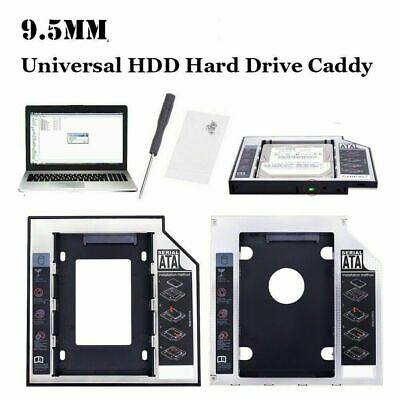 £4.99 • Buy SATA To SATA 2nd HDD Caddy Adaptor For 9.5 MM DELL TOSHIBA ACER ASUS HP SONY