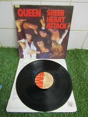 Queen Sheer Heart Attack Record • 12£