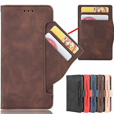 AU11.78 • Buy For Xiaomi POCO F2 Pro, Separable Card Slot Magnetic Leather Wallet Case Cover