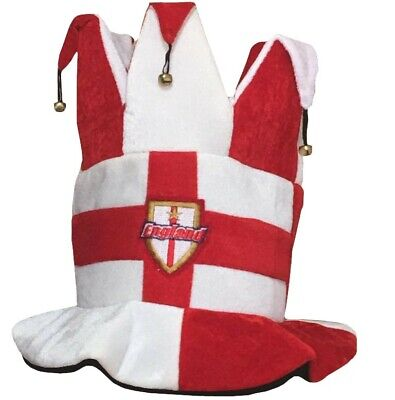 England Official Supporter Hat St George Novelty Jester Hat Fancy Dress Party  • 5.45£
