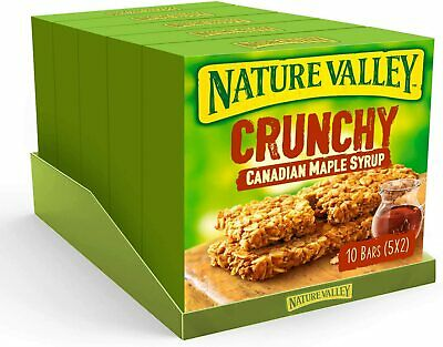 £15.02 • Buy Nature Valley Crunchy Canadian Maple Syrup Cereal Bars 42g (Pack Of 50 Bars)